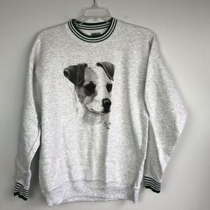 Jack Russell Terrier Puppy Graphic Sweatshirt for sale